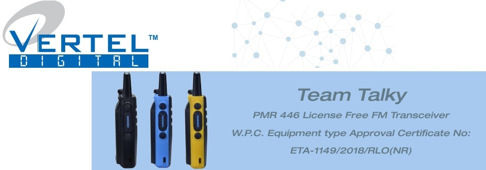 vertal walkie talkie dealers in bangalore
