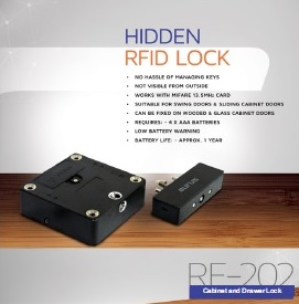 Hidden RFID Lock