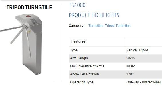 TS1000 TRIPOD